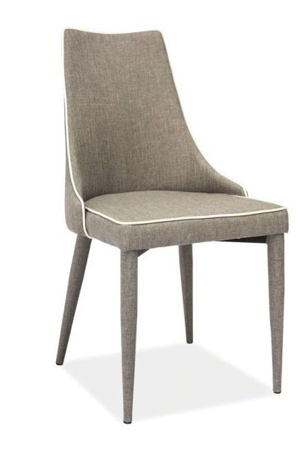 SIGNAL SOREN jedálenská stolička - sivá