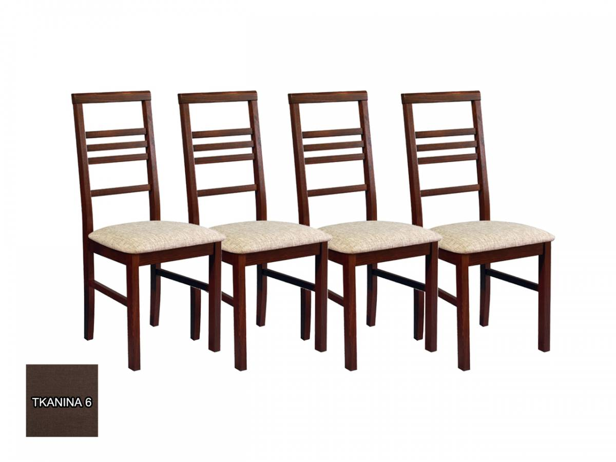 Set 4 ks. jedálenských stoličiek