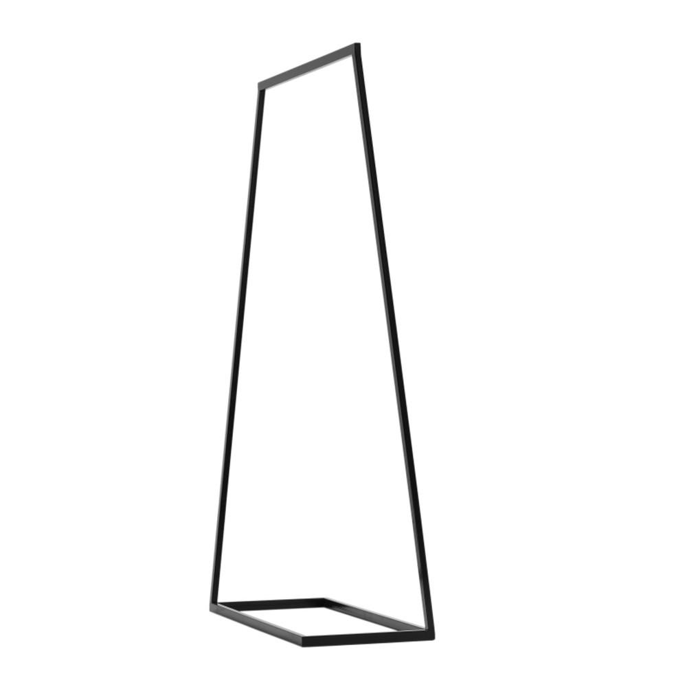 Čierny vešiak Custom Form Hall, šírka 100 cm