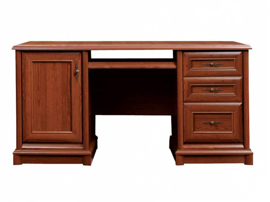 Kancelárský stôl KENT EBIU 158K   Farba: Gaštan