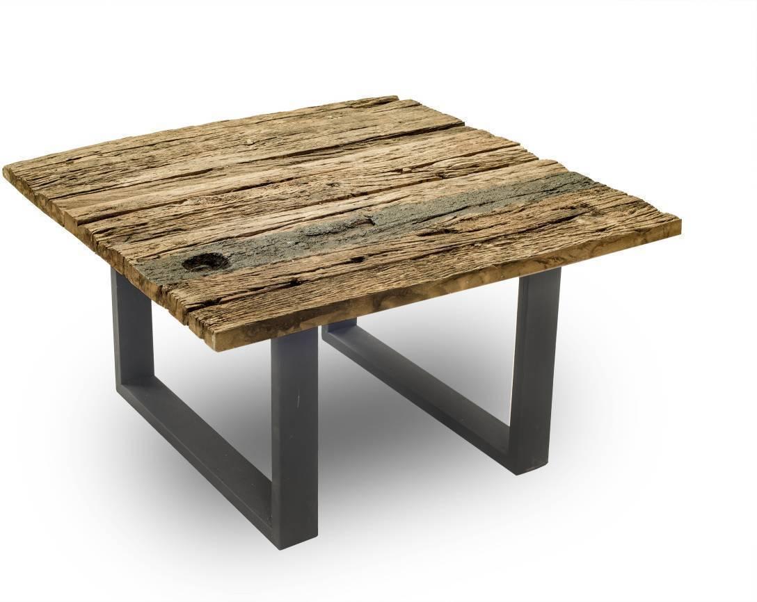 Konferenčný stolík THIRD 80 cm - prírodná