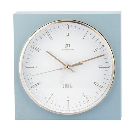 Lowell JA7070V Stolné hodiny s funkciou budíka 16 x 16 cm