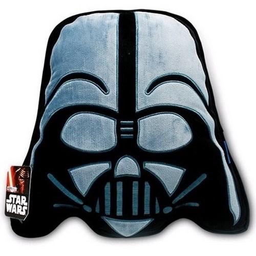 Cure Ping Tvarovaný vankúšik Star Wars Darth Vader 3D, 34 x 37 cm