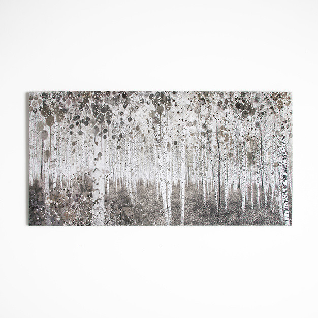 Obraz Graham & Brown Watercolour Wood, 120 x 60 cm