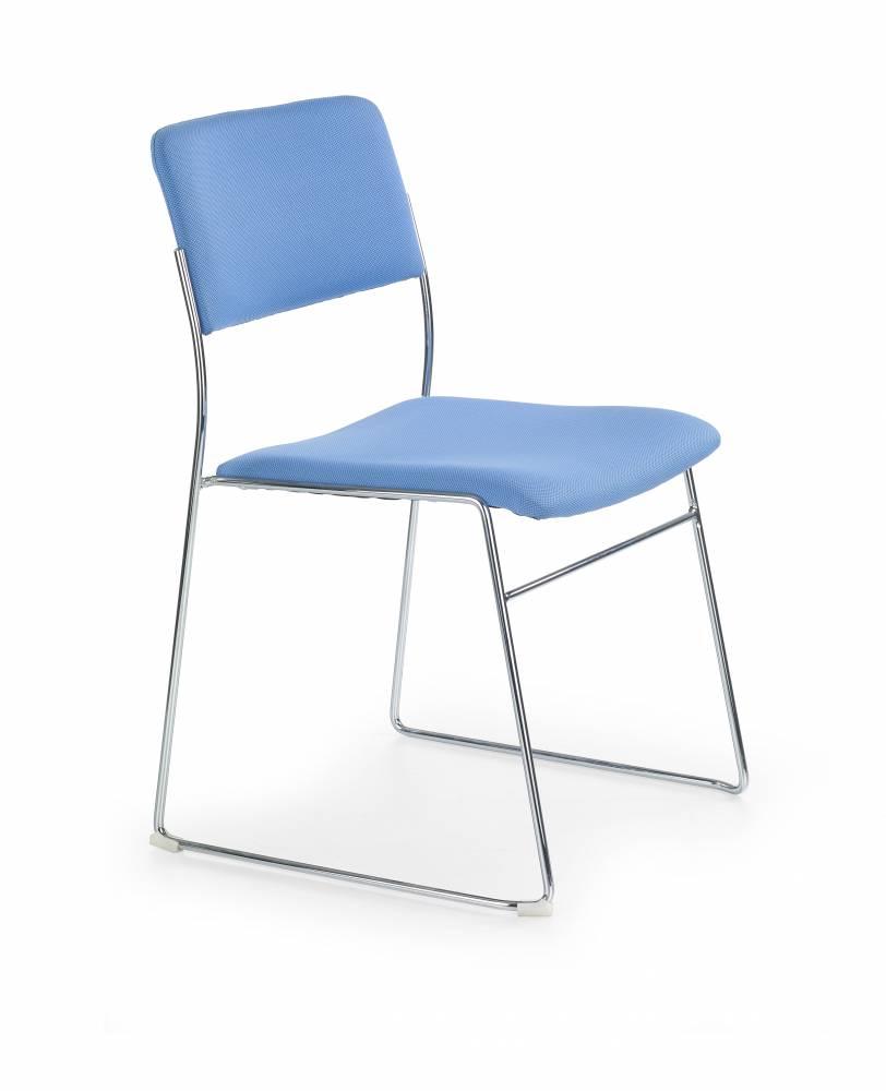 Konferenčná stolička Vito (modrá)
