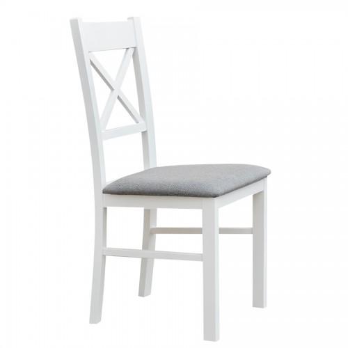 Biely nábytok Stolička Belluno Elegante 22, čalúnenie LARGO
