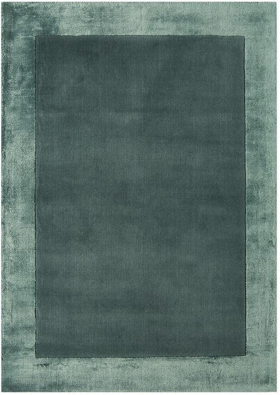 Ascot koberec - modrá/zelená