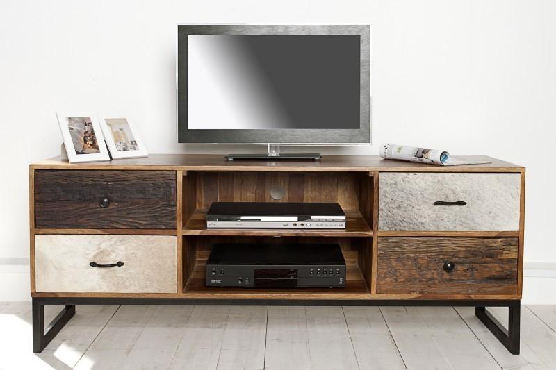 TV stolík NATUR 150 cm - viacfarebná