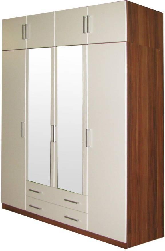 Skriňa 4 dverová 61540 orech/biela