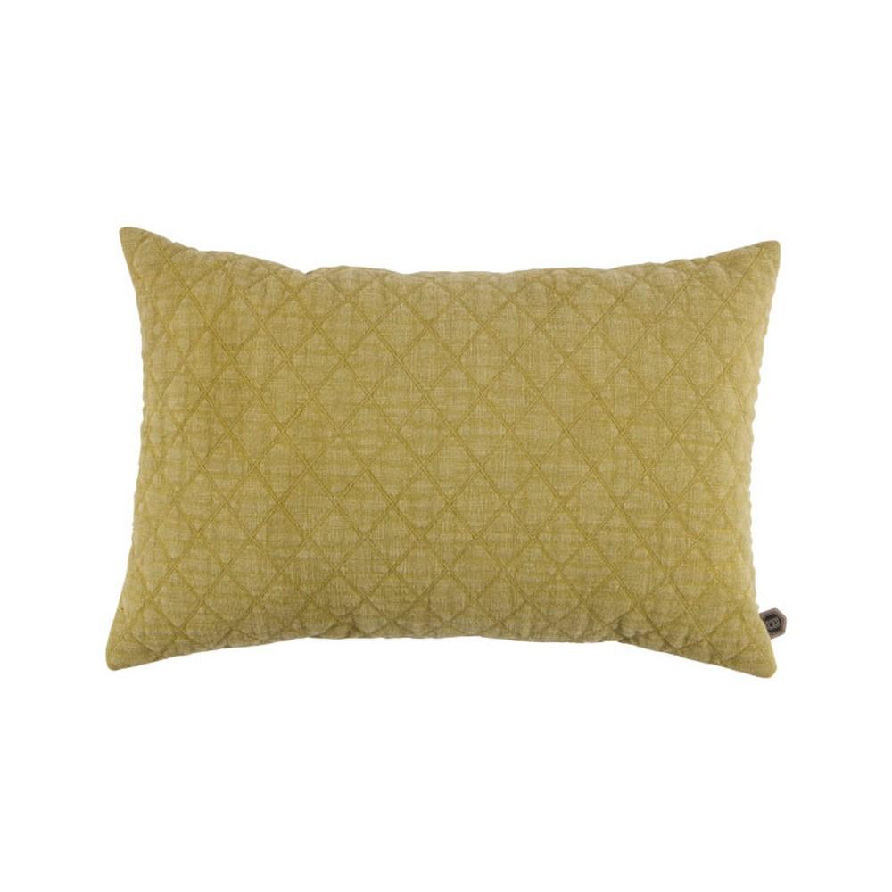 Žltý bavlnený vankúš De Eekhoorn Guides, 40×60cm