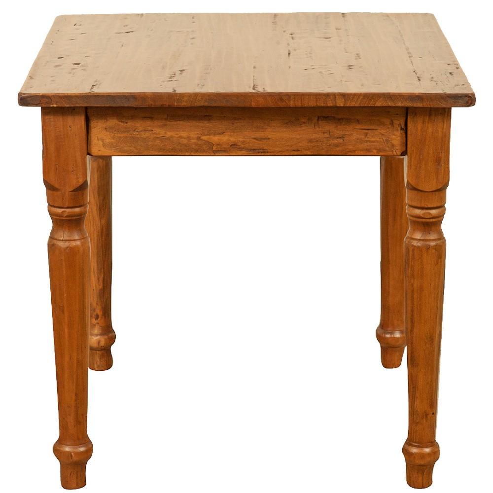 Drevený jedálenský stôl Biscottini Feast, 90 x 90 cm
