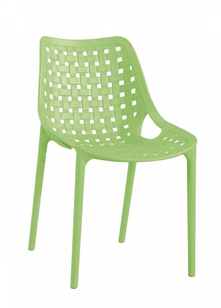 TERY plastová stolička, zelená