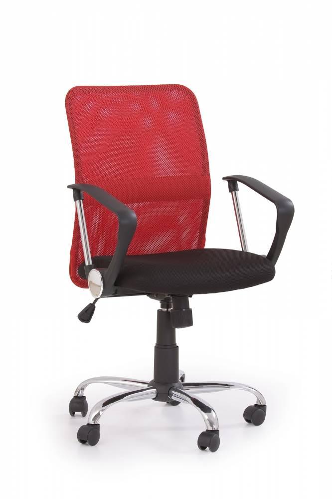 Kancelárska stolička Tony červená