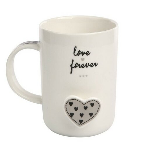 Altom Porcelánový hrnček Forever Love 360 ml