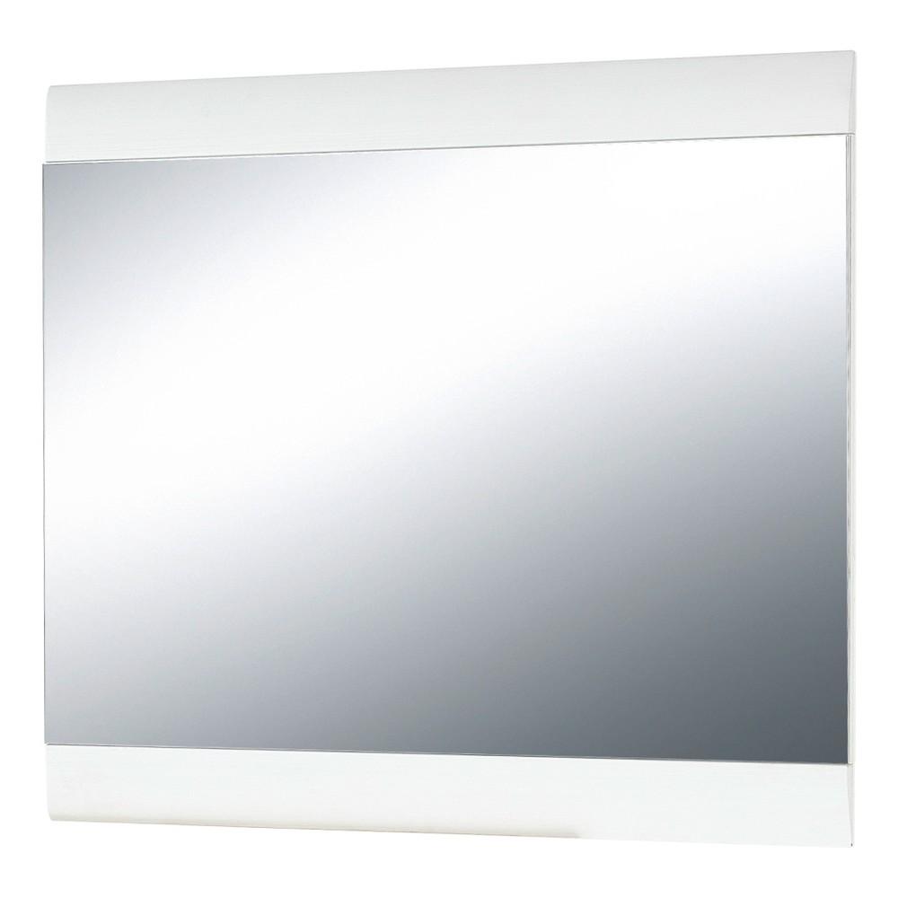 Biele nástenné zrkadlo Germania Malou