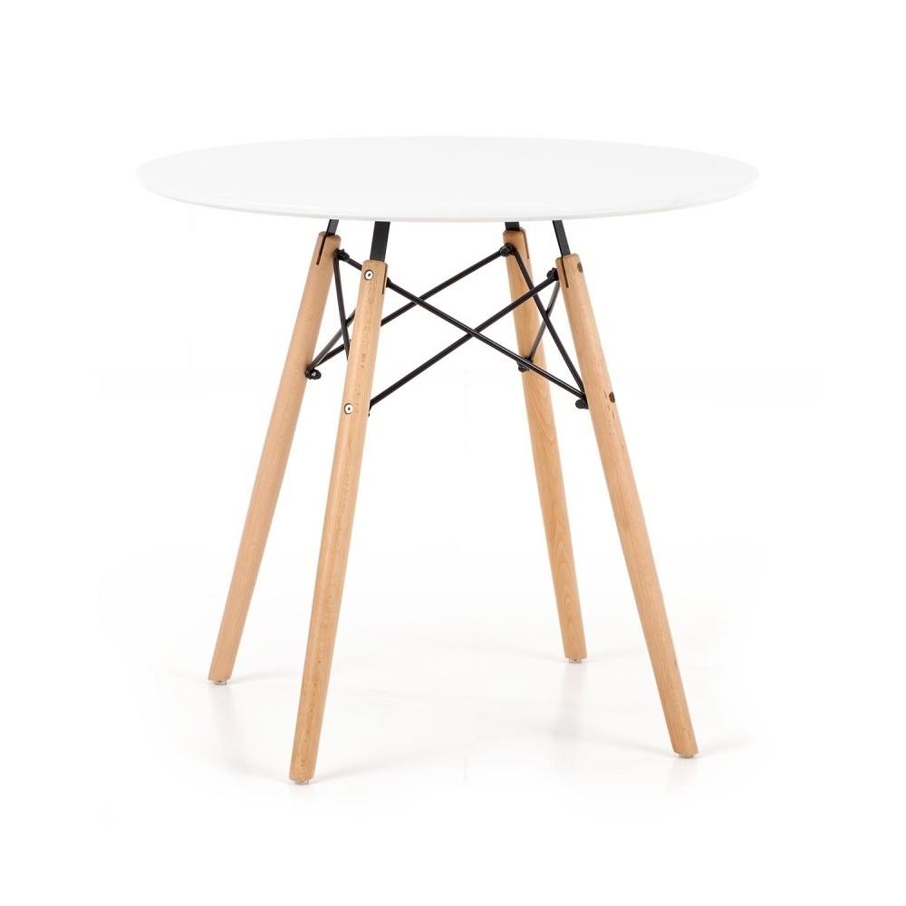 Jedálenský stôl Halmar Prometheus, ⌀ 80 cm
