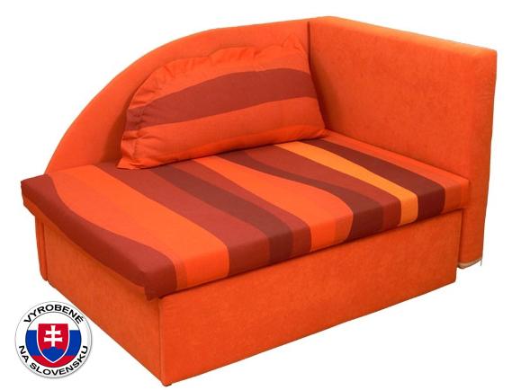 Detská posteľ 80 cm Kubo (s molitanovým matracom) (L)