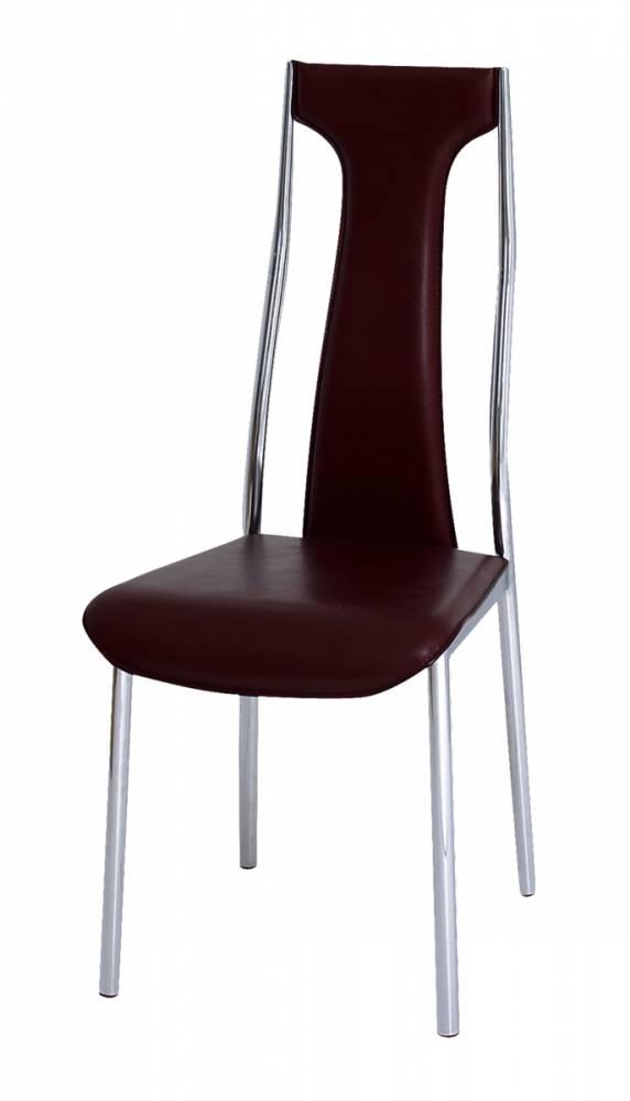 Jedálenská stolička Ria-Iris bordová