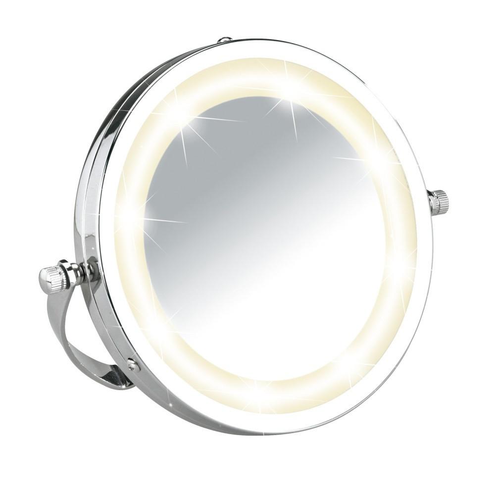 Kozmetické zrkadielko s LED osvetlením Wenko Brolo