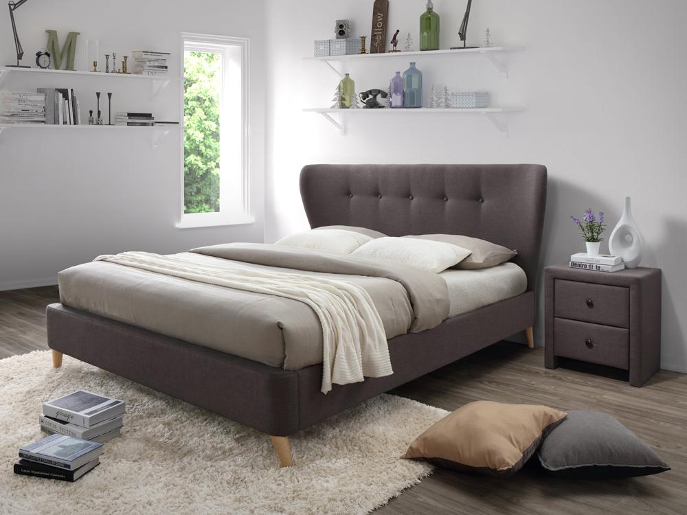 Manželská posteľ 160 cm Viena (s roštom) *bazár
