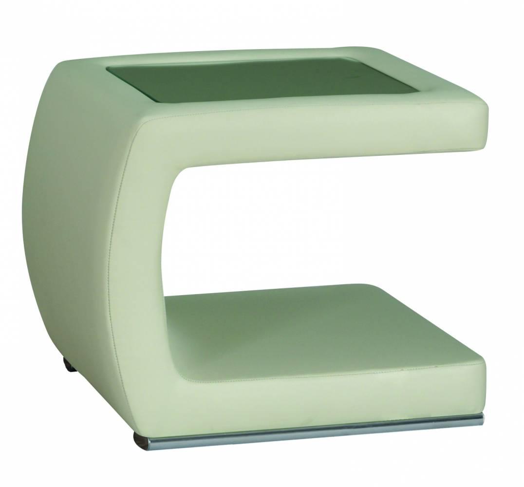 PreSpánok Carrie - čalúnený nočný stolík pravý 45x53x41 cm cm