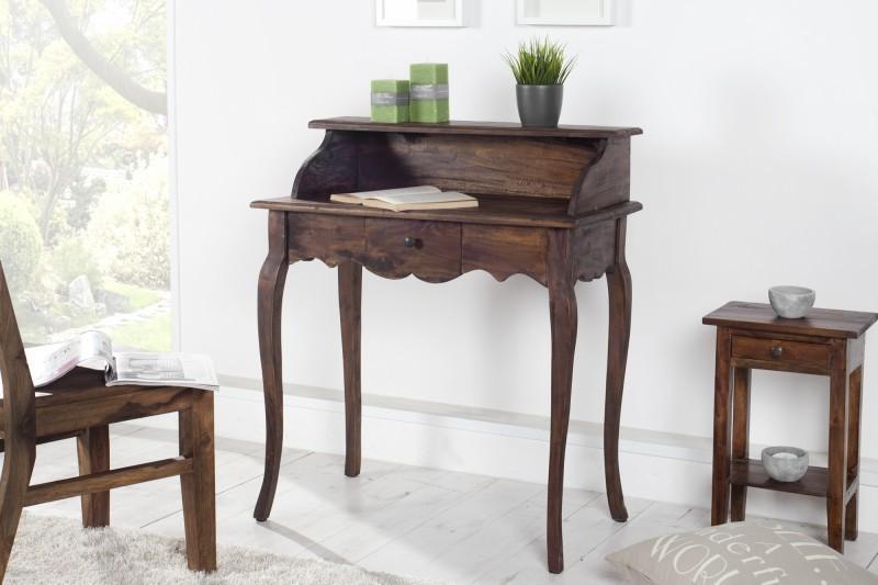 Písací stôl HEWING - kávová