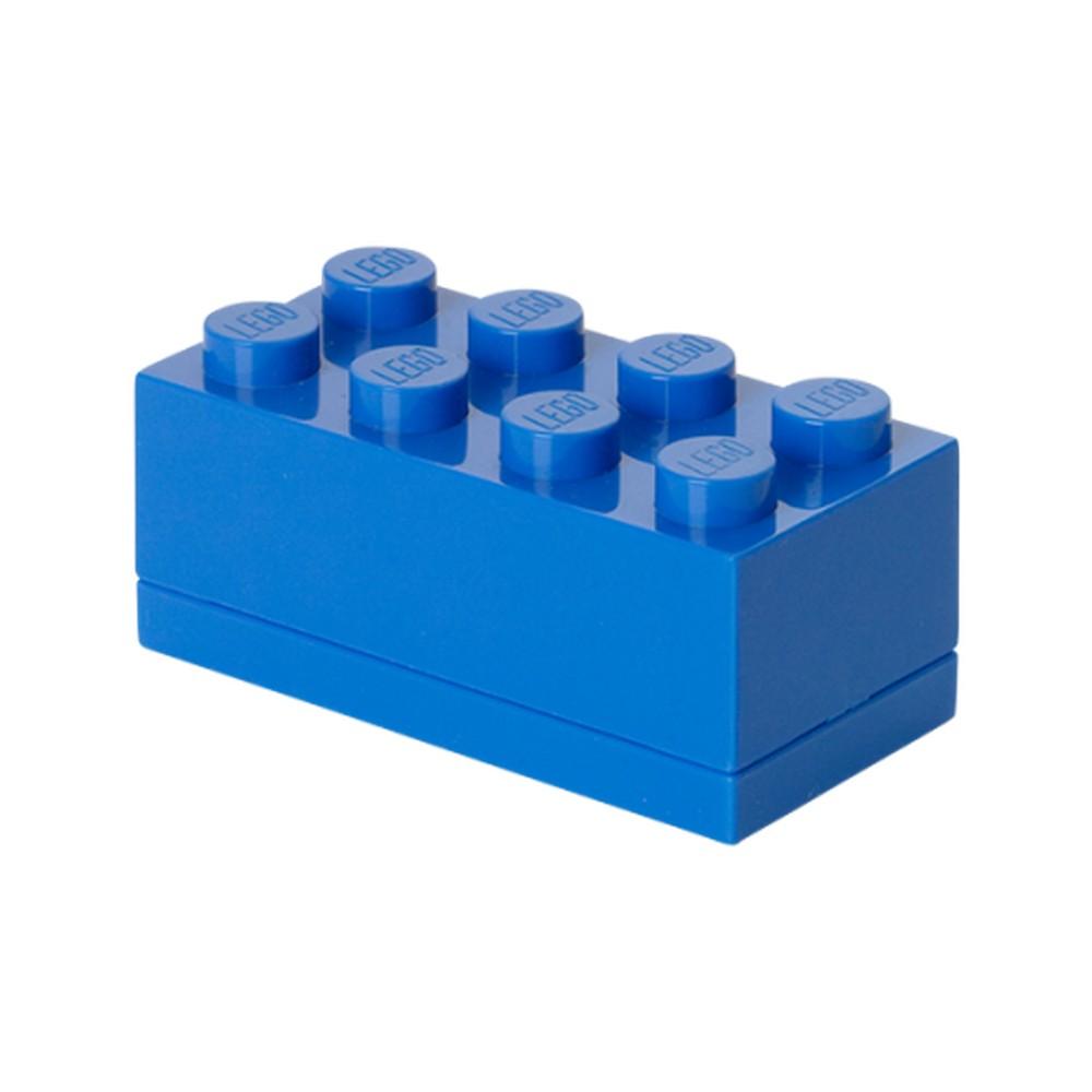 Modrý úložný box LEGO® Mini Box Blue Lungo