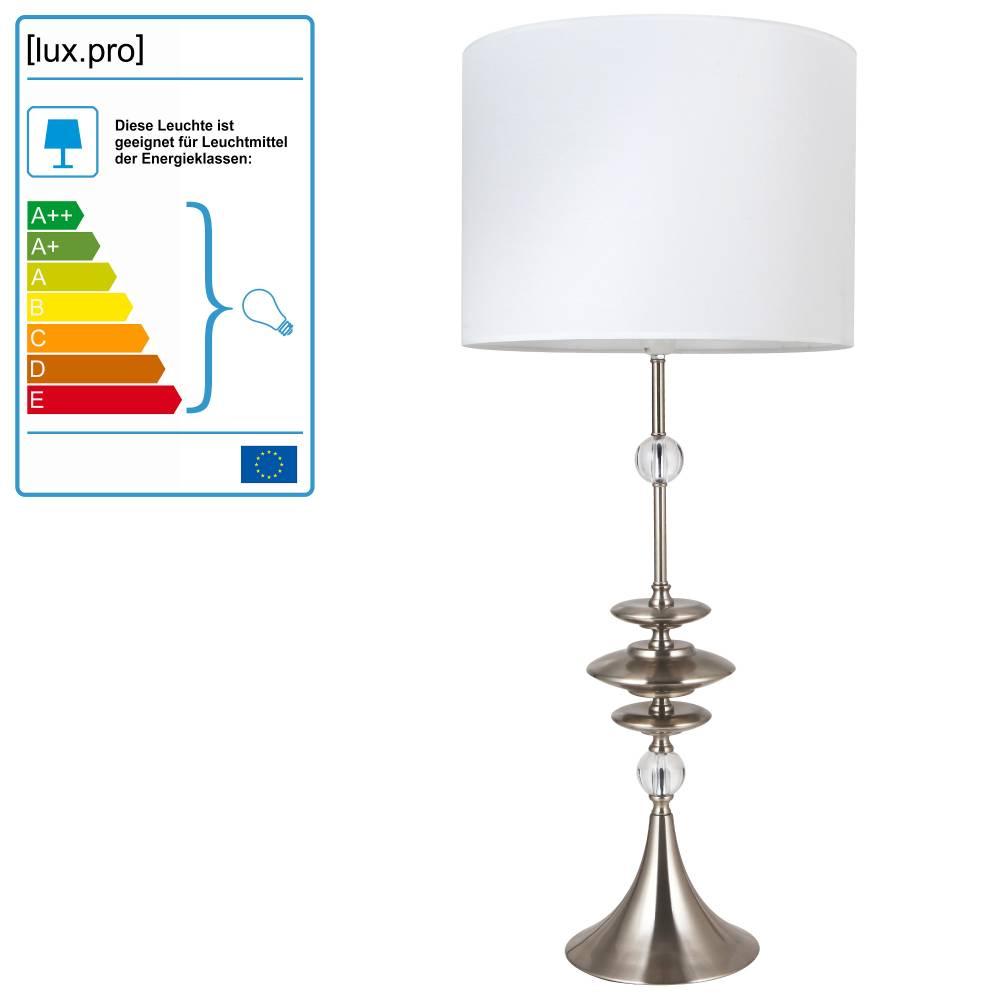 [lux.pro]® Elegantná stolová lampa – nočná lampa - Glasgow / 1 x E27
