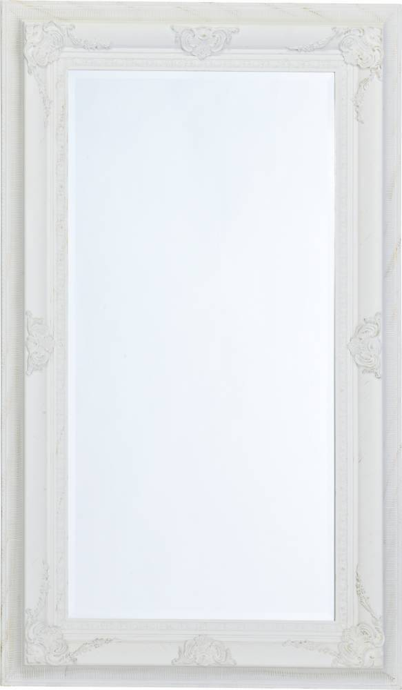 Barokové zrkadlo MALO - biela