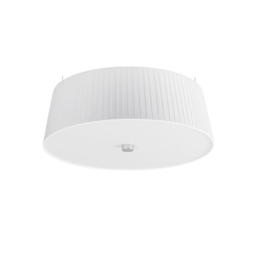 Biele závesné svietidlo Sotto Luce Kami, Ø 36 cm