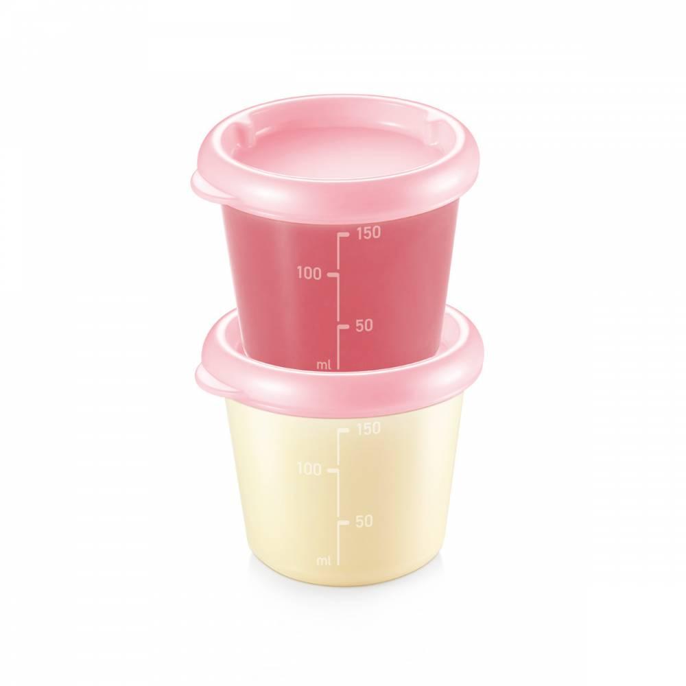 TESCOMA dóza PAPU PAPI 150 ml, 2 ks, ružová , 150 ml