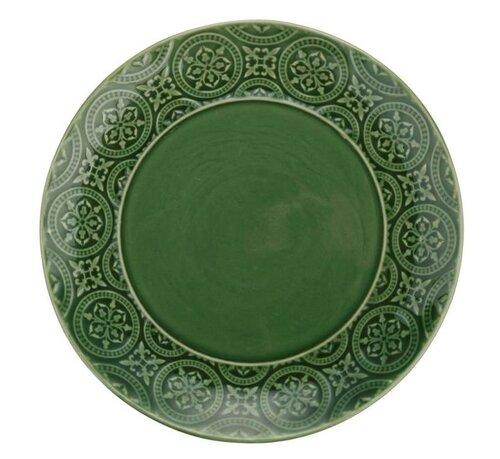 Florina Keramický dezertný tanier Nadine 20 cm, zelená