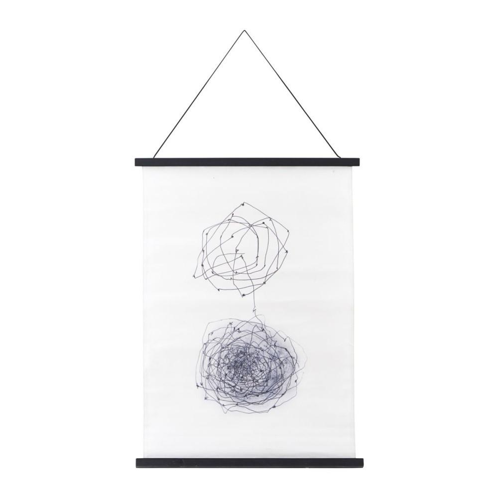 Plagát s rámom House Doctor Knot,50x70cm