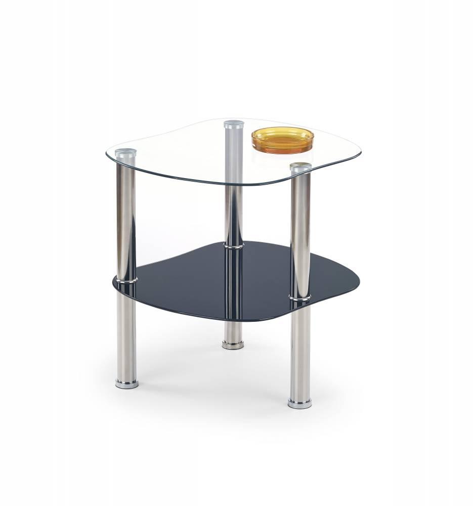 Konferenčný stolík Arya (čierne sklo)