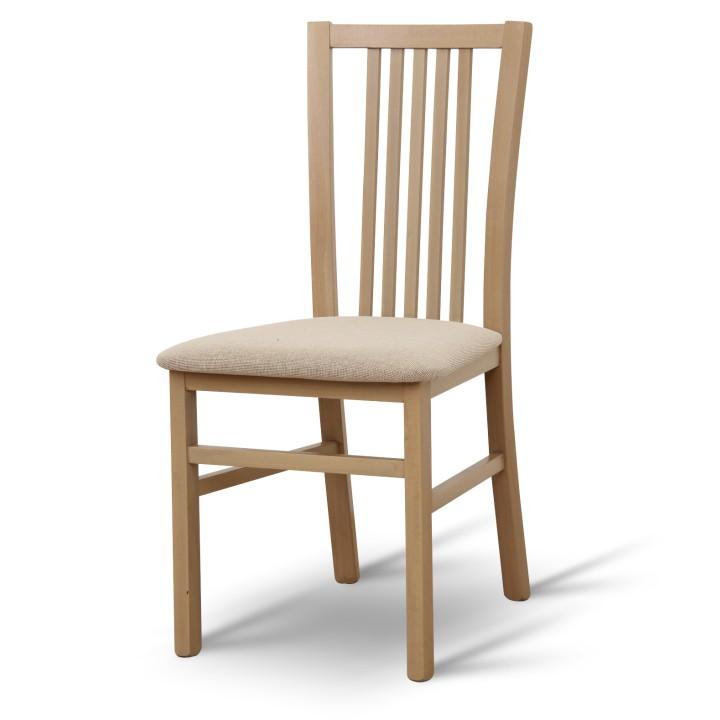 TEMPO KONDELA ALFONZO 1 jedálenská stolička - dub sonoma / béžová