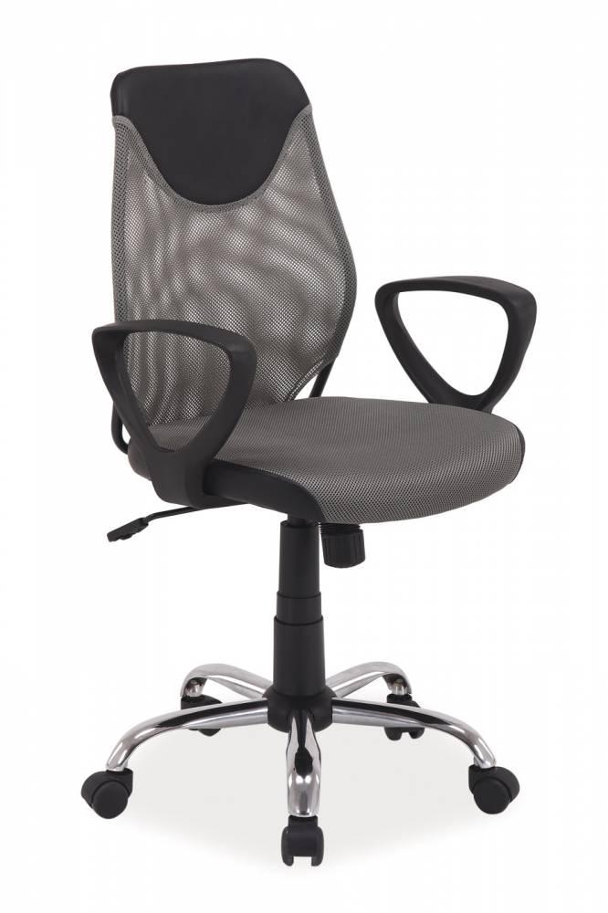 Kancelárske kreslo Q-146 sivá