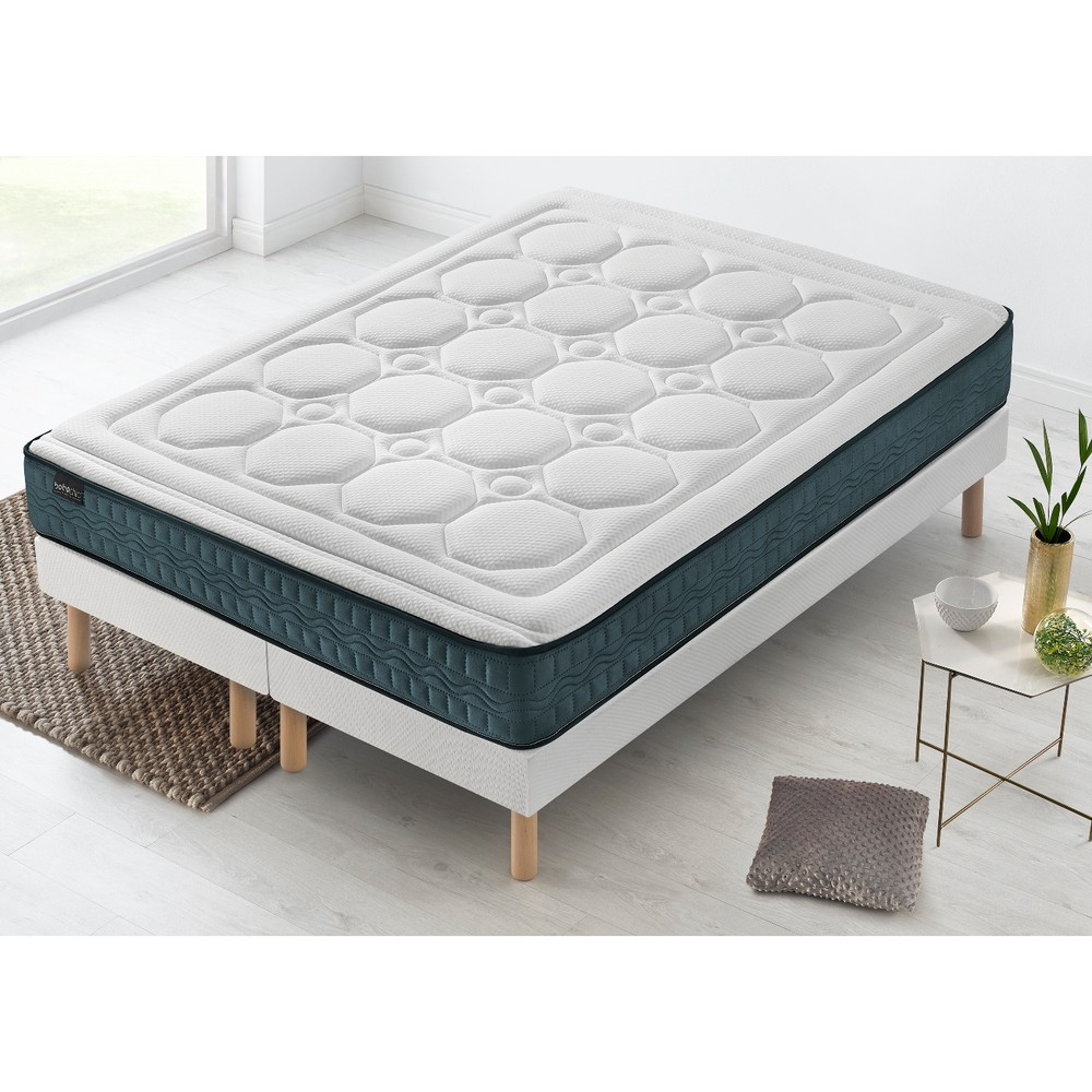 Dvojlôžková posteľ s matracom Bobochic Paris Tendresso, 100 x 200 cm + 100 x 200 cm