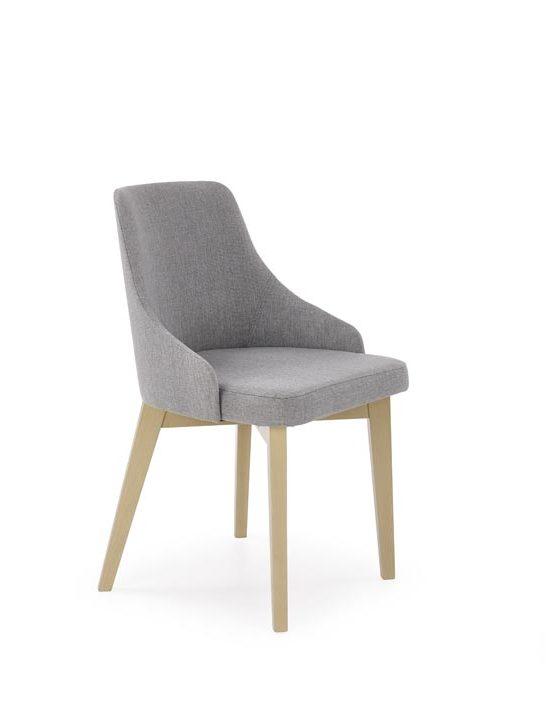 Jedálenská stolička Toledo (svetlosivá + dub sonoma)