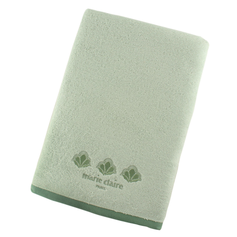 Zelená osuška Marie Claire Shimmer, 70x140cm