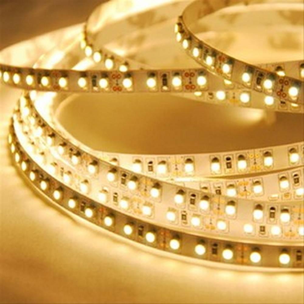 Solight LED svetelný pás 5m, 12V adaptér, 4,8W/m, IP20, teplá biela (WM51)