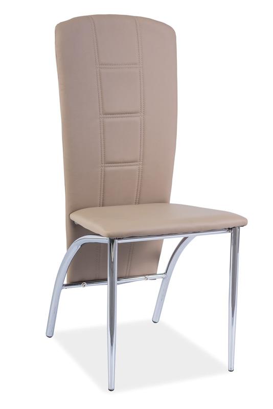 Jedálenská stolička HK-120, tmavobéžová