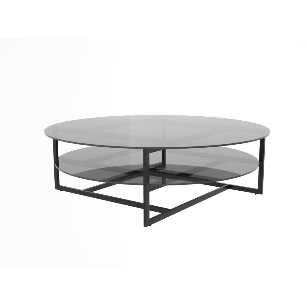 Konferenčný stolík Interstil Loke, ⌀ 120 cm