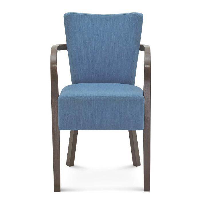Modrá stolička Fameg Asulf