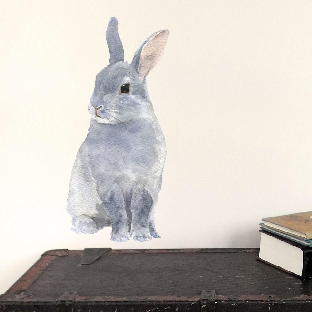 Samolepka na viac použití Bunny,30x21cm