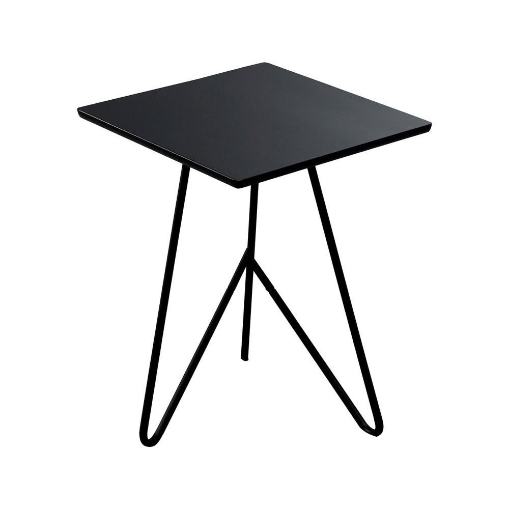 Čierny odkladací stolík Design Twist Padang