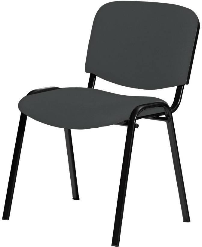 Stolička VISI šedá
