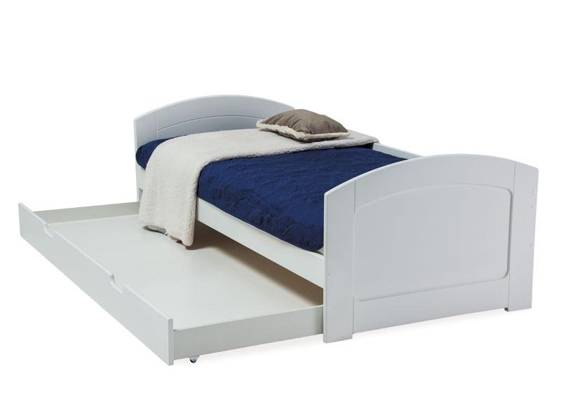 Jednolôžková posteľ 90 cm Mobi (s roštom)
