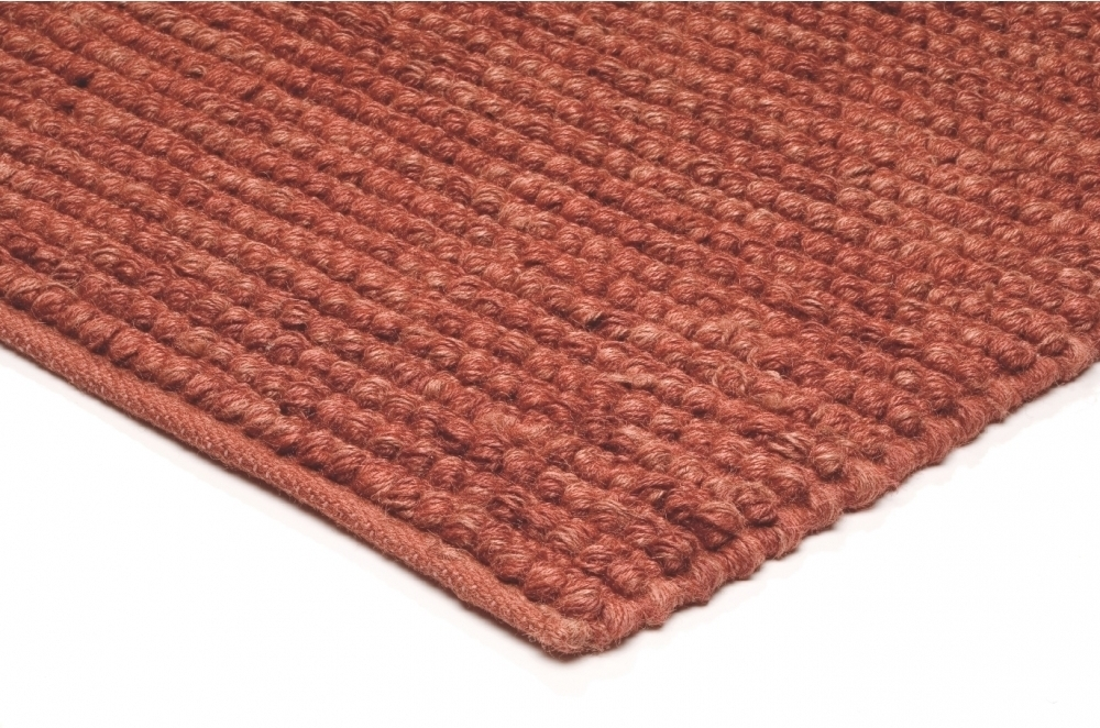 Jute Loop koberec - červená
