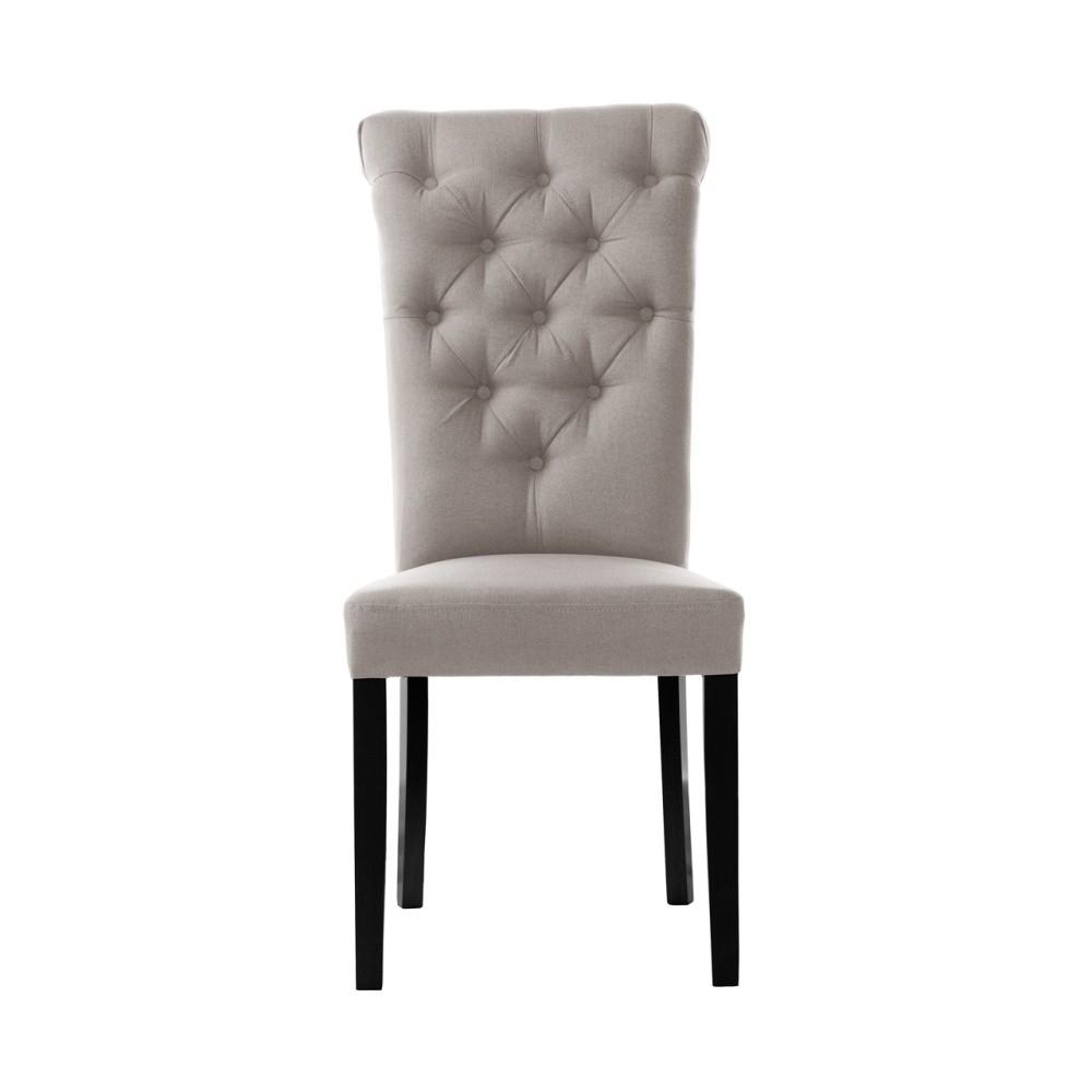 Sivohnedá stolička L'Officiel Taylor
