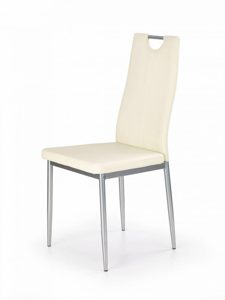 Jedálenská stolička K202 (krémová)